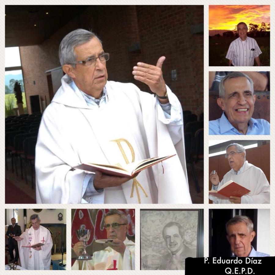 Padre Eduardo Díaz Ardila Q.E.P.D.